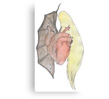 Dichotomy Of Good & Evil Canvas Print