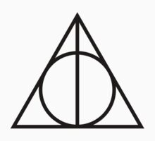 deathly hallows symbol Kids Clothes