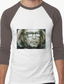 Eric Clapton watercolor Men's Baseball ¾ T-Shirt