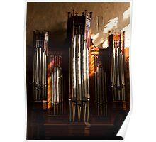 Organ Pipes Poster