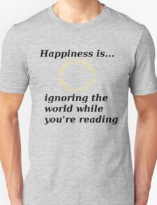 Happiness is... Lord Of The Rings Edition T-Shirt