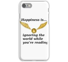 Happiness is... Harry Potter Edition iPhone Case/Skin