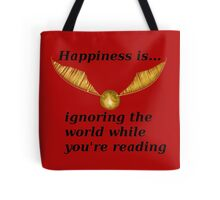 Happiness is... Harry Potter Edition Tote Bag