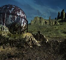 Extinct Base Planet by Luchare
