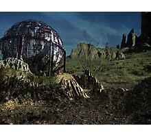 Extinct Base Planet Photographic Print