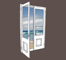Beach Door by Charles White