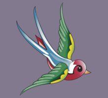 Designville Classic (Bird) Kids Tee