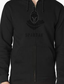 Spartan Warrior Zipped Hoodie
