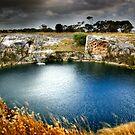 Little Blue Lake by Steven Maynard