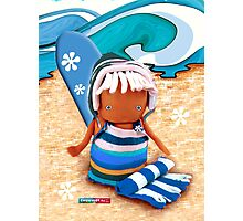 CHUNKIE Surfer Photographic Print