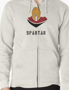 Spartan Warrior Ver.2 Zipped Hoodie