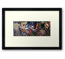 Daytona Beach Bike Week Chopper Framed Print