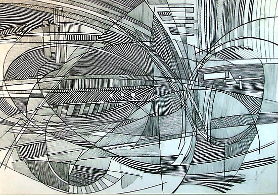 Line Abstraction 2 by Josh Bowe