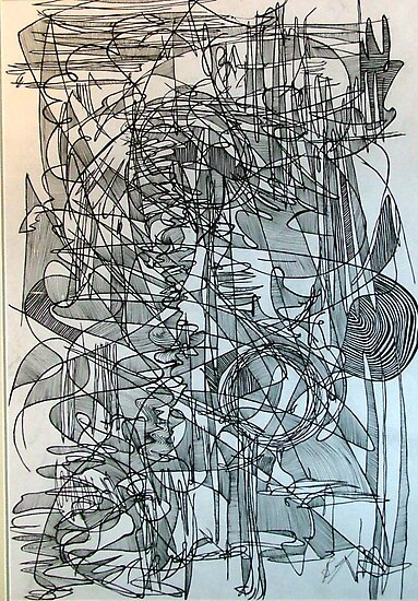 Line Abstraction 3 by Josh Bowe