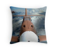 Battle in the Skies Throw Pillow