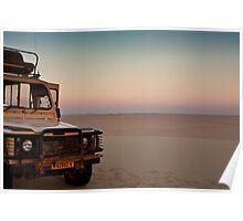 Drive to the edge of sundown Poster