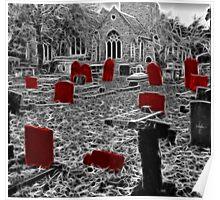 Spooky Graveyard !! Poster