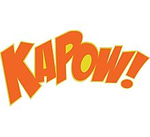 KAPOW Photographic Print