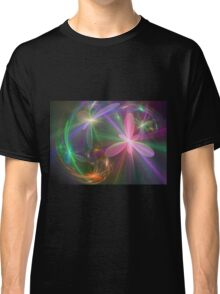 Ethereal Flowers Dancing Classic T-Shirt