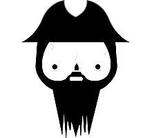 Black Beard Photographic Print