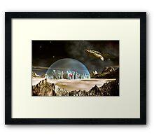 Starship Trooper Framed Print