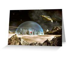 Starship Trooper Greeting Card