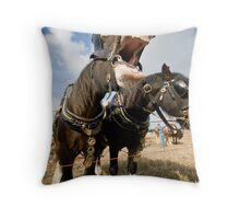 What A laugh Throw Pillow