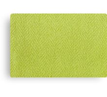 Bright green knitted fabric cloth texture Canvas Print