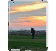 Eighteenth Green at Sunset iPad Case/Skin