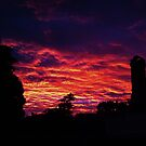 Backyard Sunset by Cameron Laird