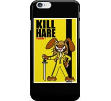 Kill Hare iPhone Case/Skin