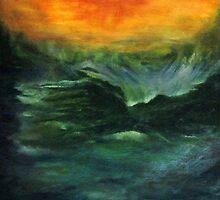 Ocean in motion by Racheli
