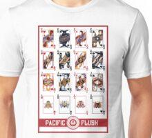 Pacific Flush - Red Unisex T-Shirt