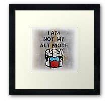 Anti-Functionist Framed Print