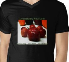 New Cool Trend .. Go Veg and Help Save Earth Mens V-Neck T-Shirt