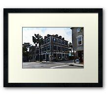 Charleston French Quarter Gallery Framed Print