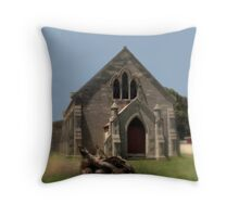 Glencoe Roman Catholic Church  Throw Pillow