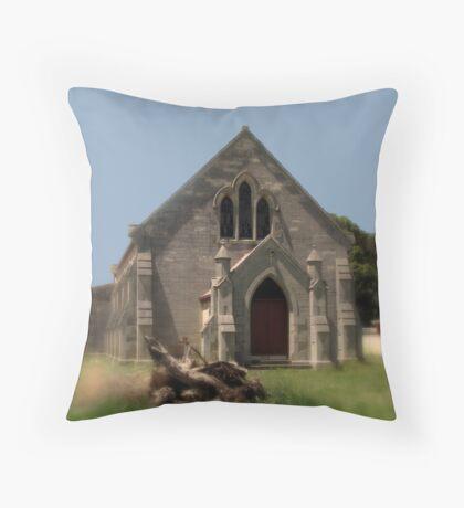 Glencoe Roman Catholic Church  Throw Pillow