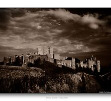 Dover Castle in B&W by CadmannUK