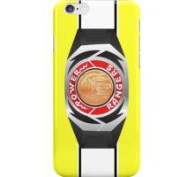 MMPR Yellow Ranger Morpher/Buckle Phone Case iPhone Case/Skin
