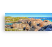 Elephant Rocks Panorama - HDR - Denmark - WA Canvas Print