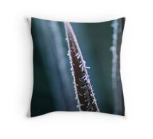 Frozen Spear Throw Pillow
