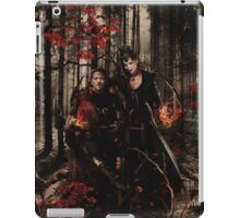 The Prince of Thieves and his Queen iPad Case/Skin