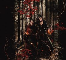 The Prince of Thieves and his Queen by Zsazsa R
