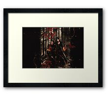 The Prince of Thieves and his Queen Framed Print