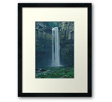 Taughannock Falls, Trumansburg, NY, USA Framed Print