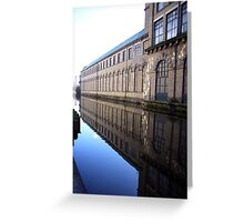 Salts Mill (2) Greeting Card