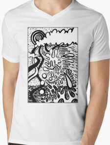 Obscured by Clouds Mens V-Neck T-Shirt