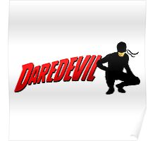 Daredevil and his logo... Poster
