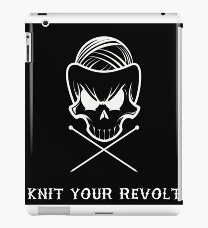 Knit Your Revolt 1 iPad Case/Skin